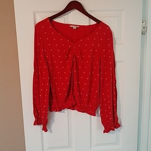 American Eagle Outfitters women's L blouse